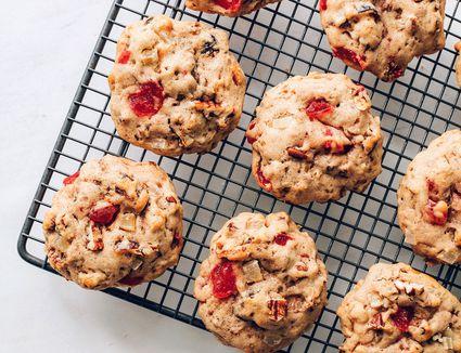 Christmas Lizzies Fruitcake Cookies