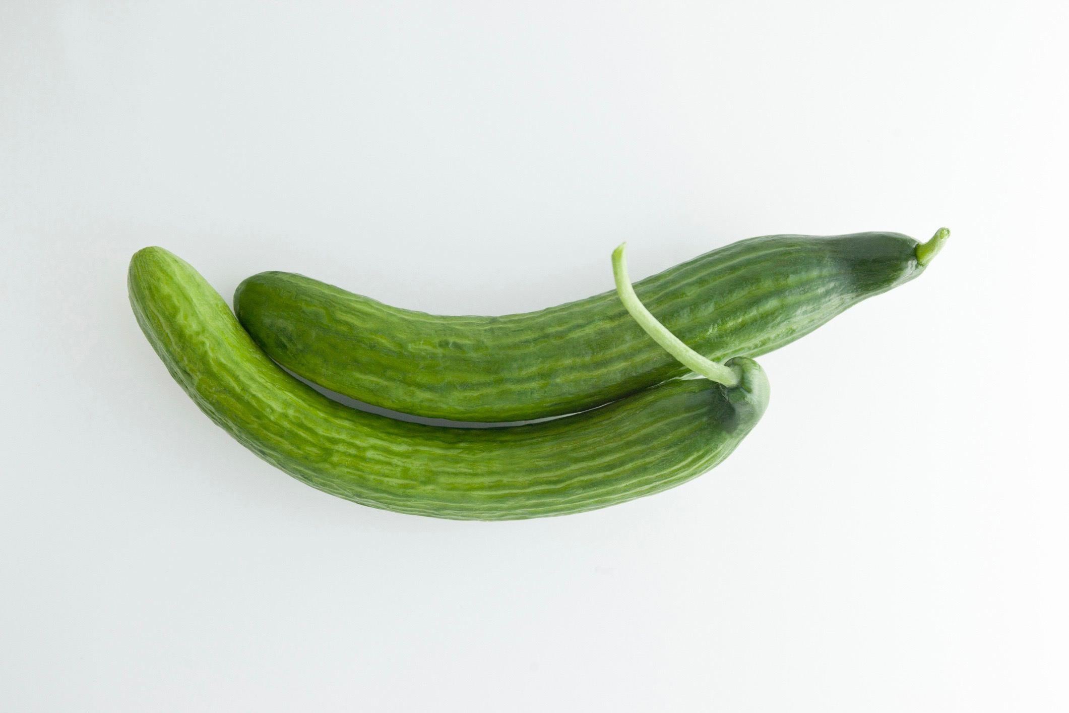 Two Long Cucumbers