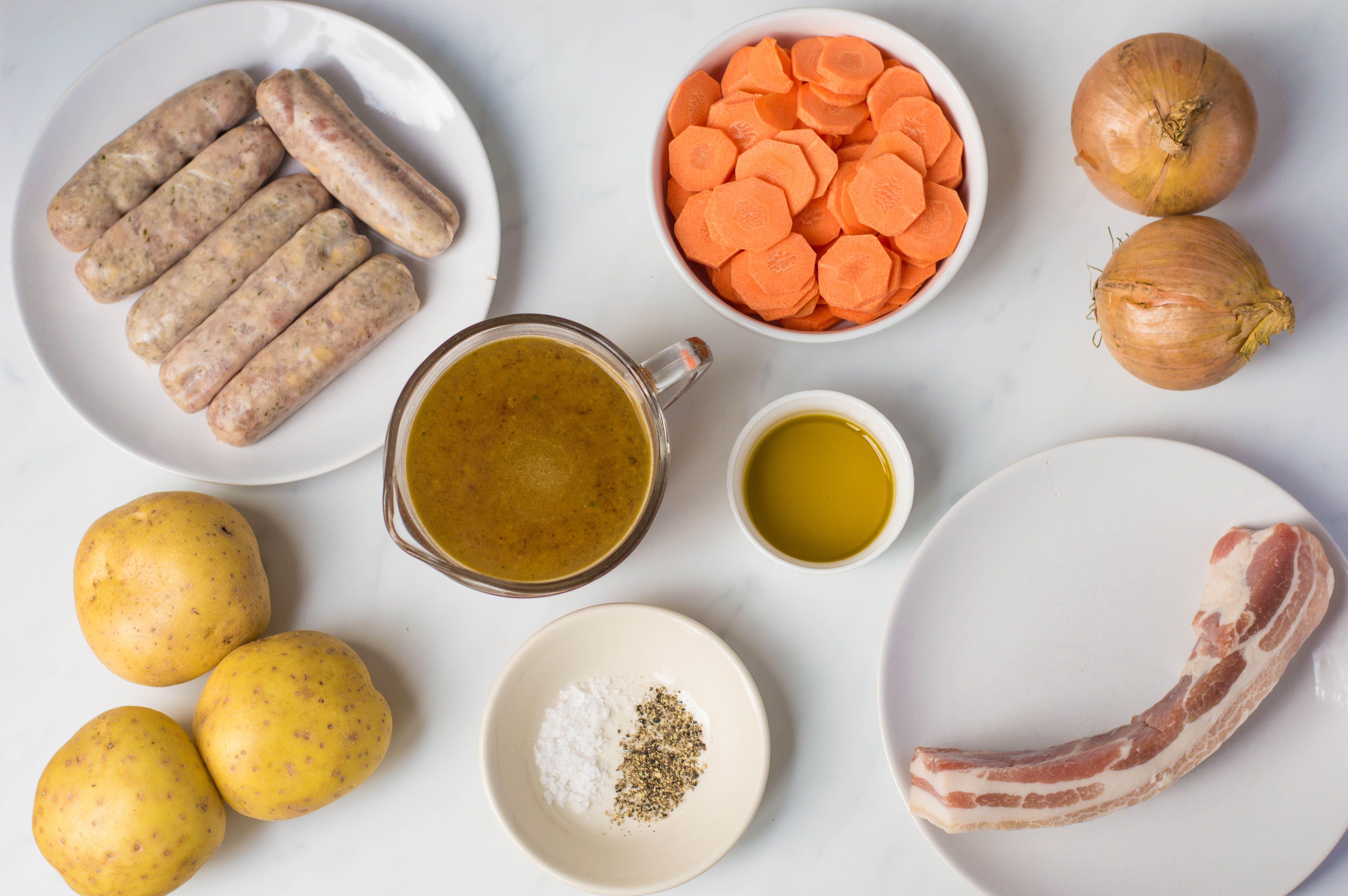 Ingredients for Dubling Coddle