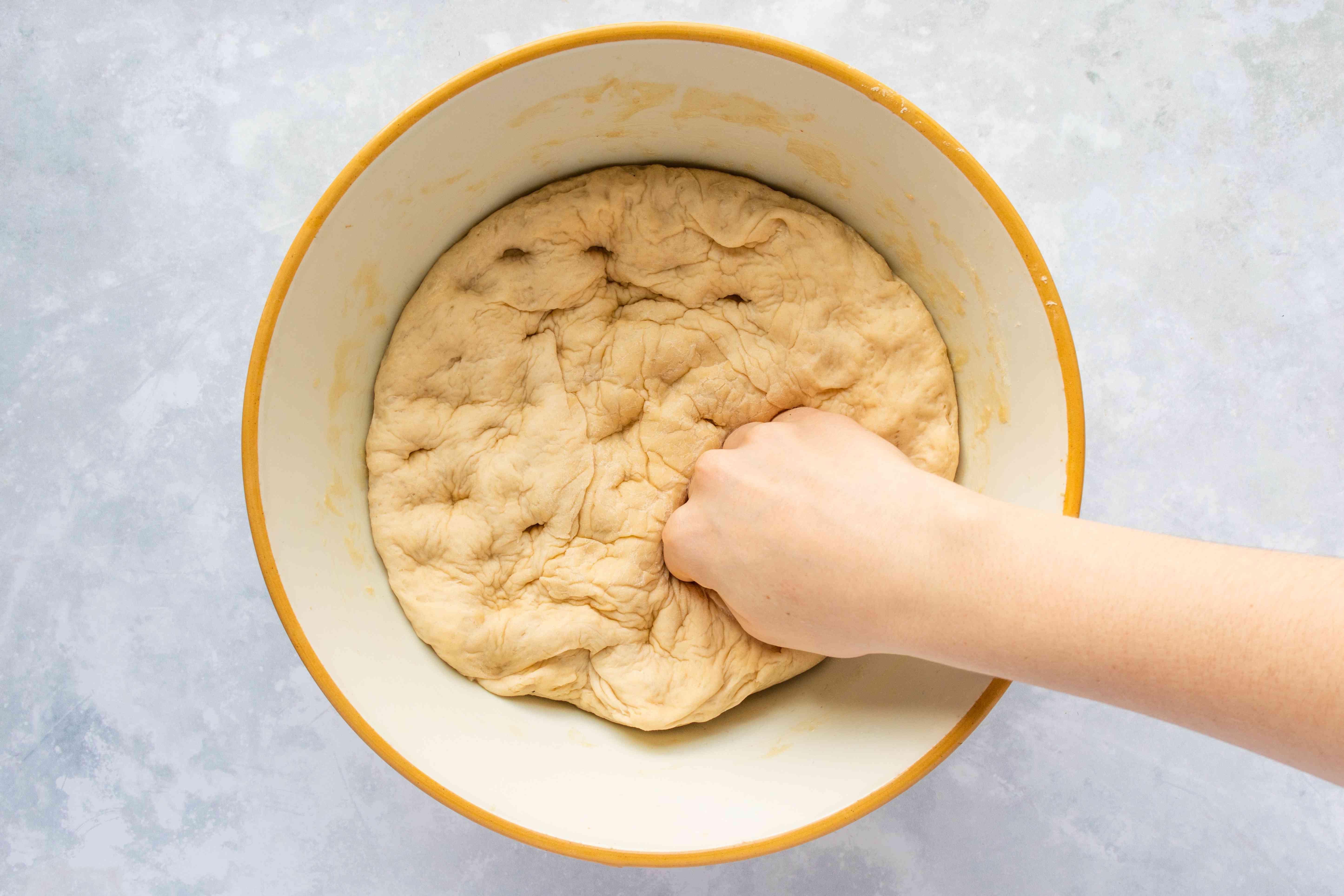 De-gas dough