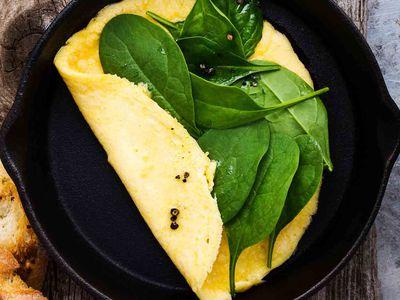 Low Calorie Veggie Omelet Recipe