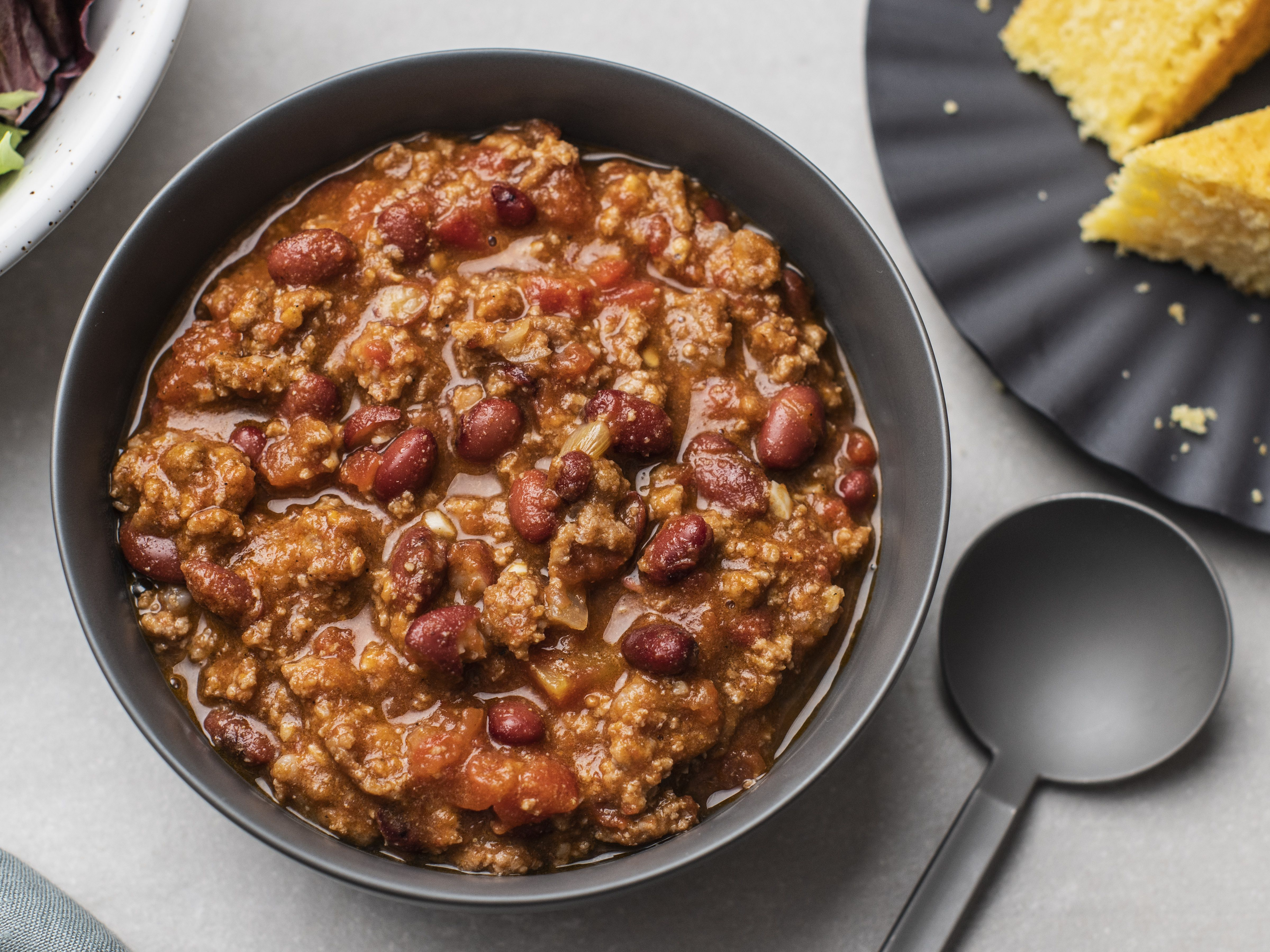 Quick And Easy Ground Beef Chili Recipe
