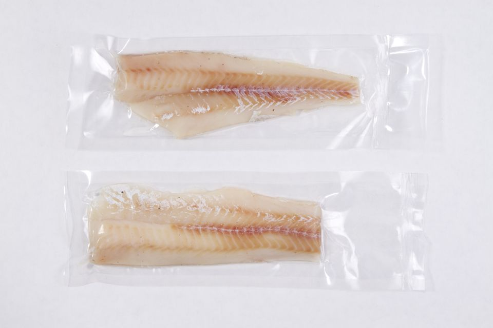 Packaged Fish for sous vide