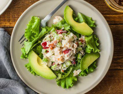 Simple crab salad recipe