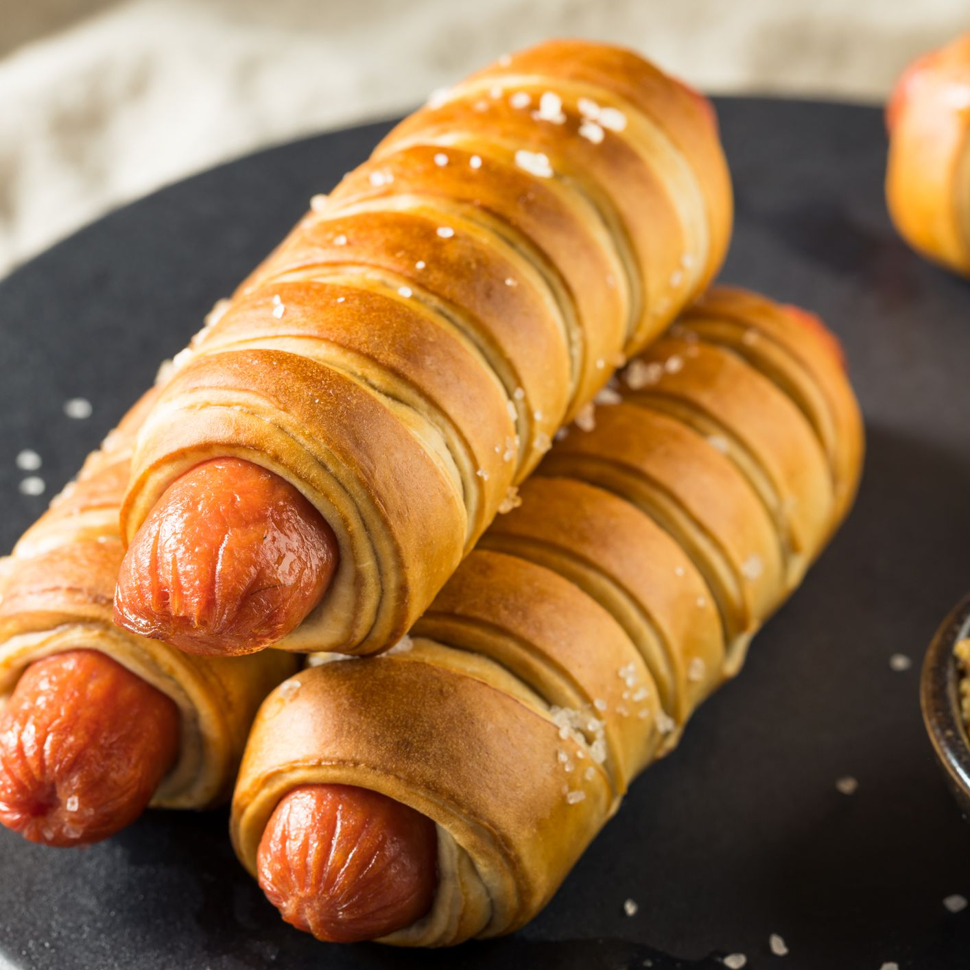 Easy Crescent Roll Pigs In A Blanket Hot Dog Recipe
