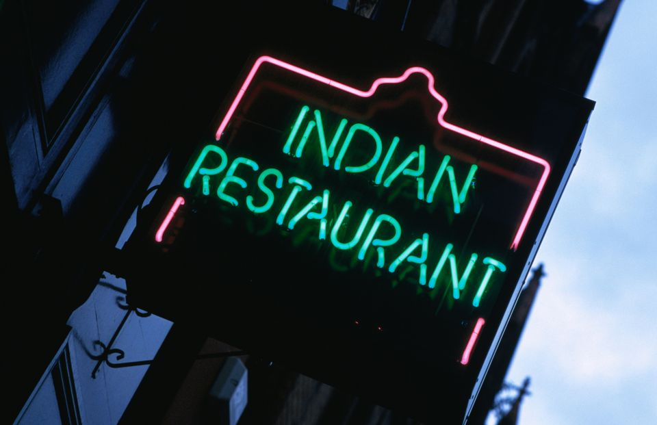 Indian Restaurant Neon Sign
