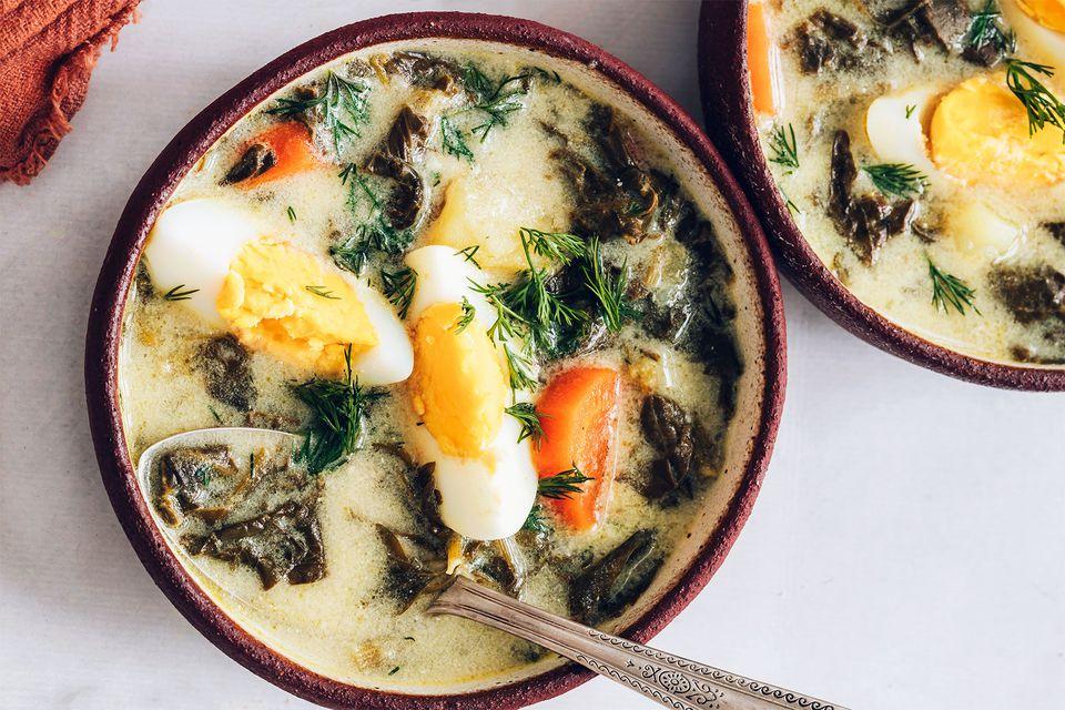 Polish Sorrel Soup
