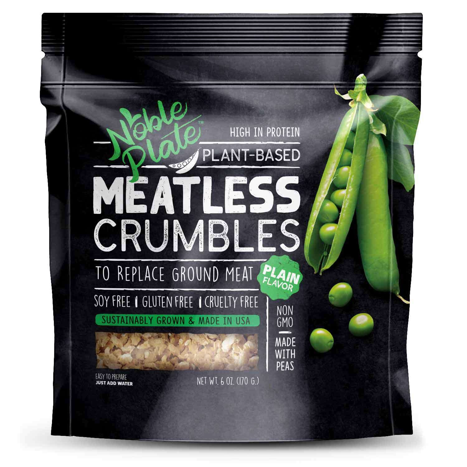 Noble Plate Plant-Based Meatless Crumbles