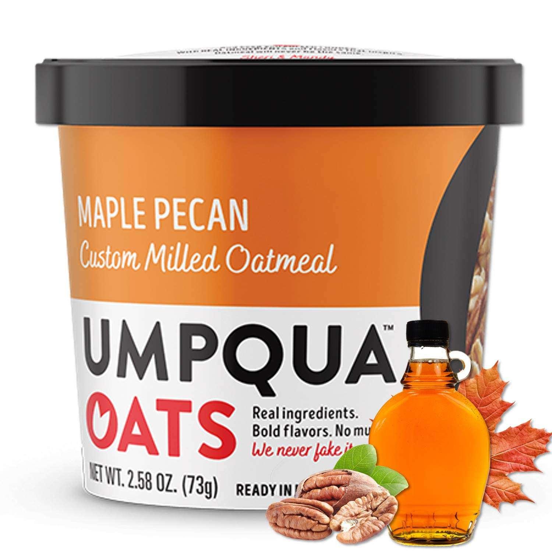 Umpqua Oats Oatmeal Cups, Maple Pecan