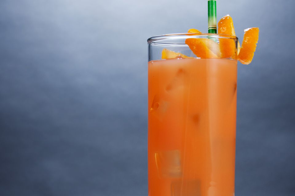 The Easy Planter's Punch Non-Alcoholic Fruit Drink Recipe