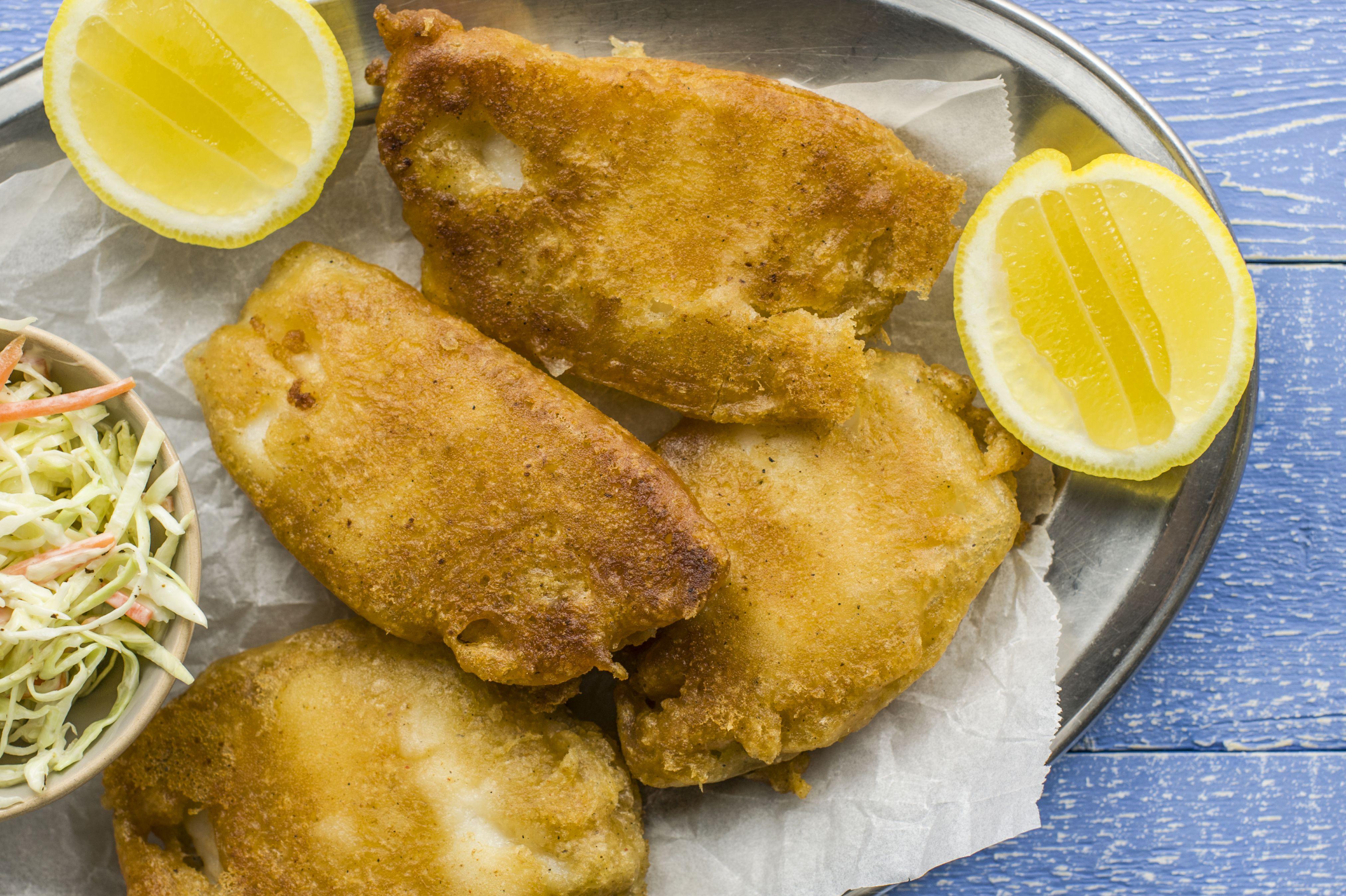 Gluten-Free Beer-Battered Fried Fish Recipe