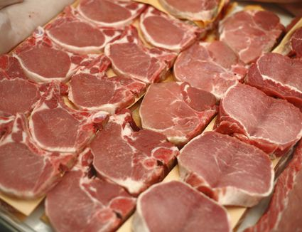 Pork chops and butterflied pork chops