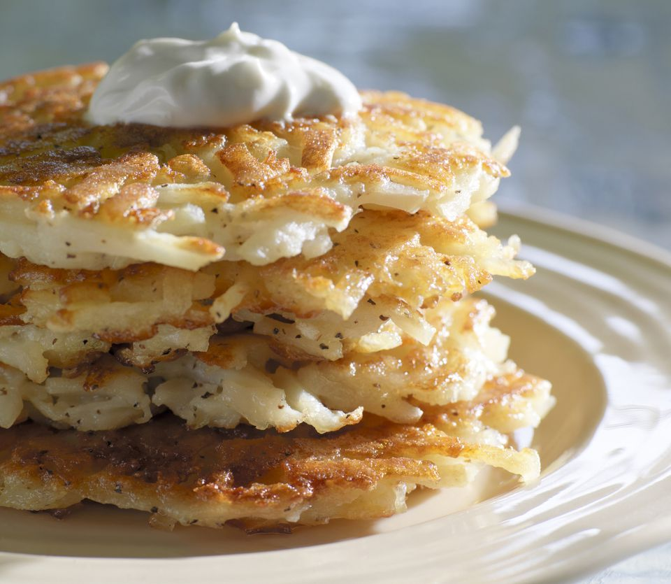 Hash brown pancakes
