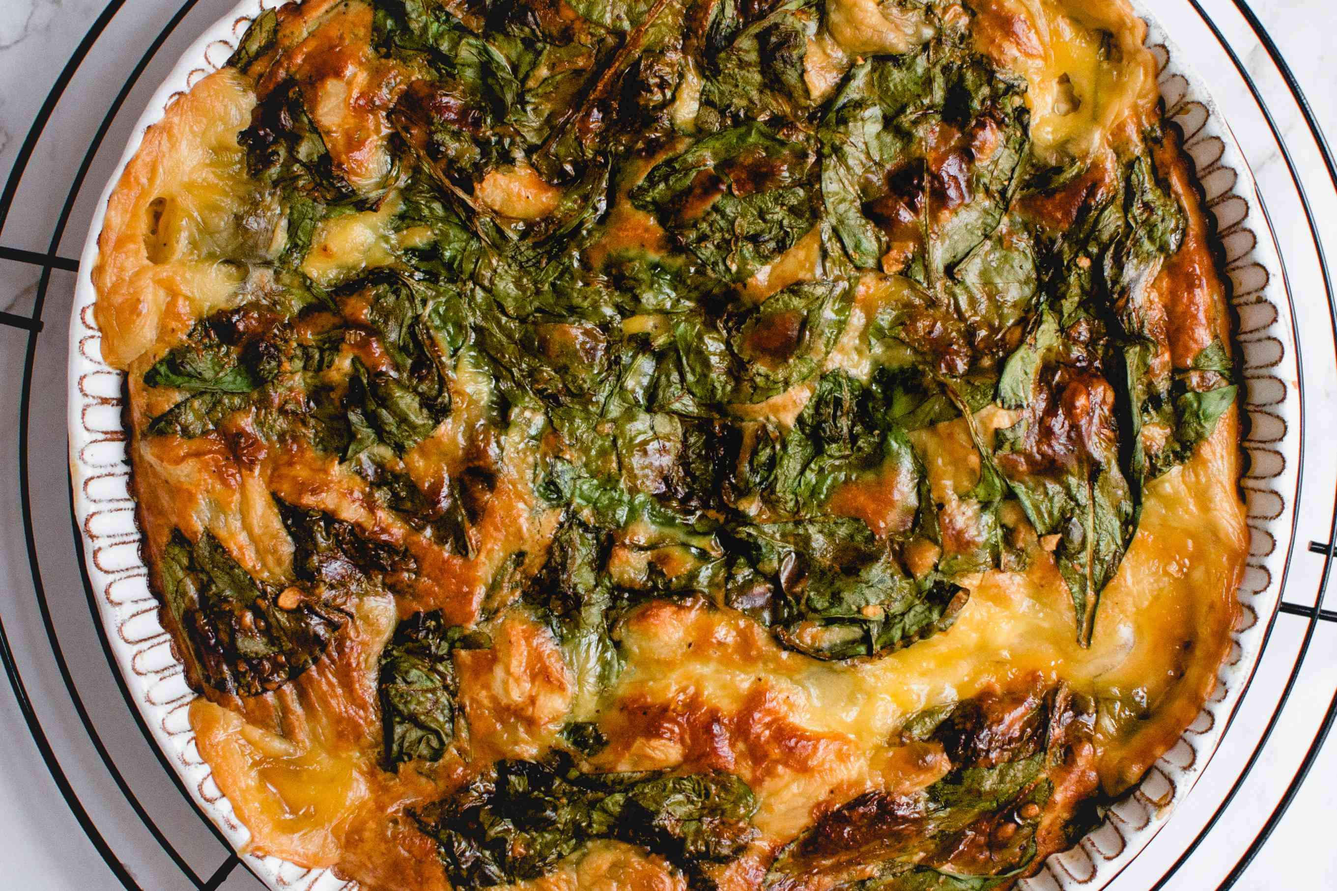 Dairy-Free Crustless Spinach Quiche