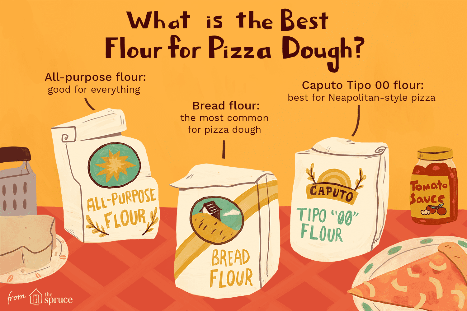 Flours for pizza