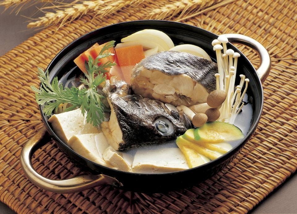 Korean fish stew
