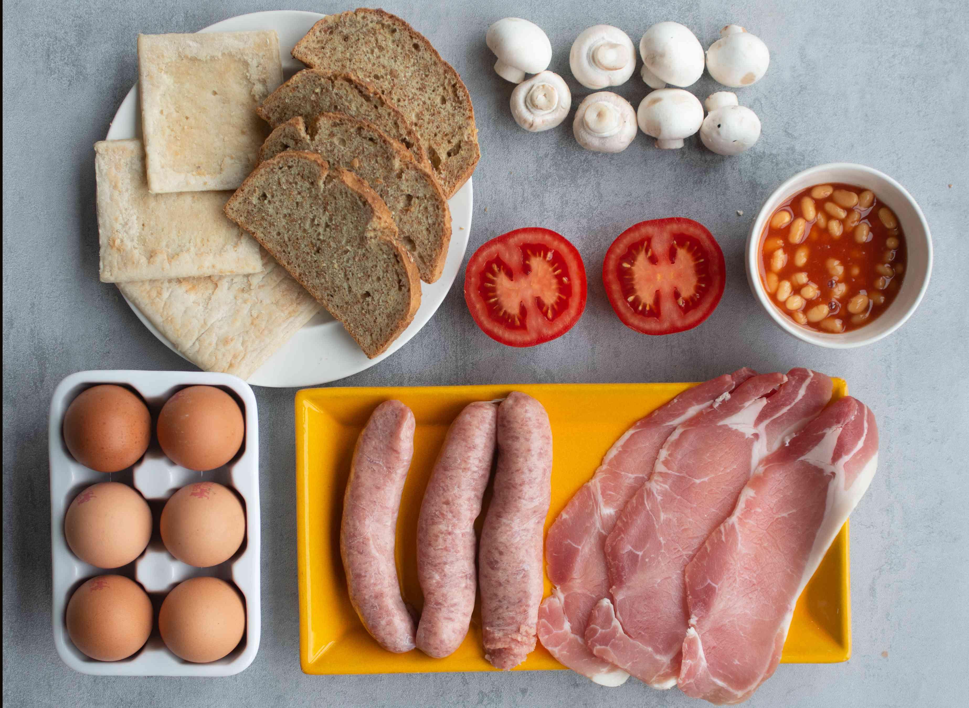 irish breakfast ingredients
