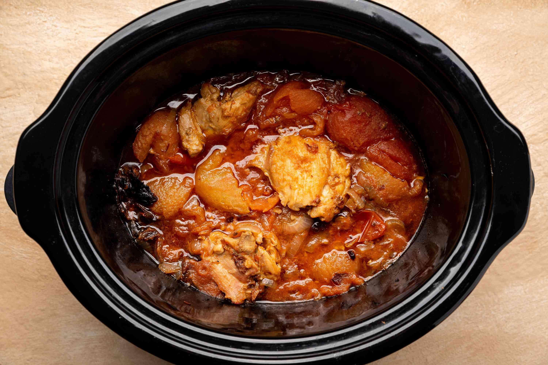cooked chicken tinga