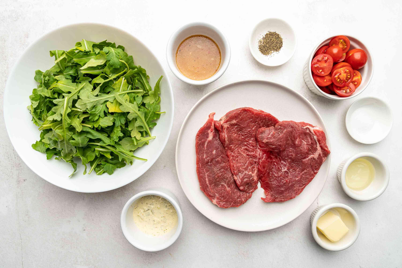 Easy Minute Steak Meal ingredients