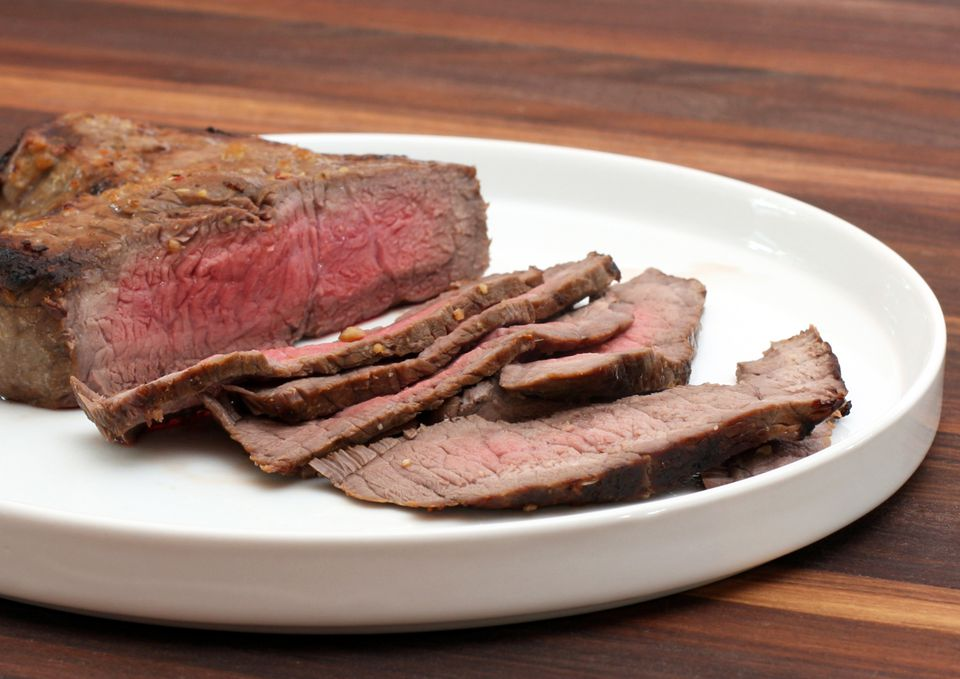 Sliced Grilled Steak