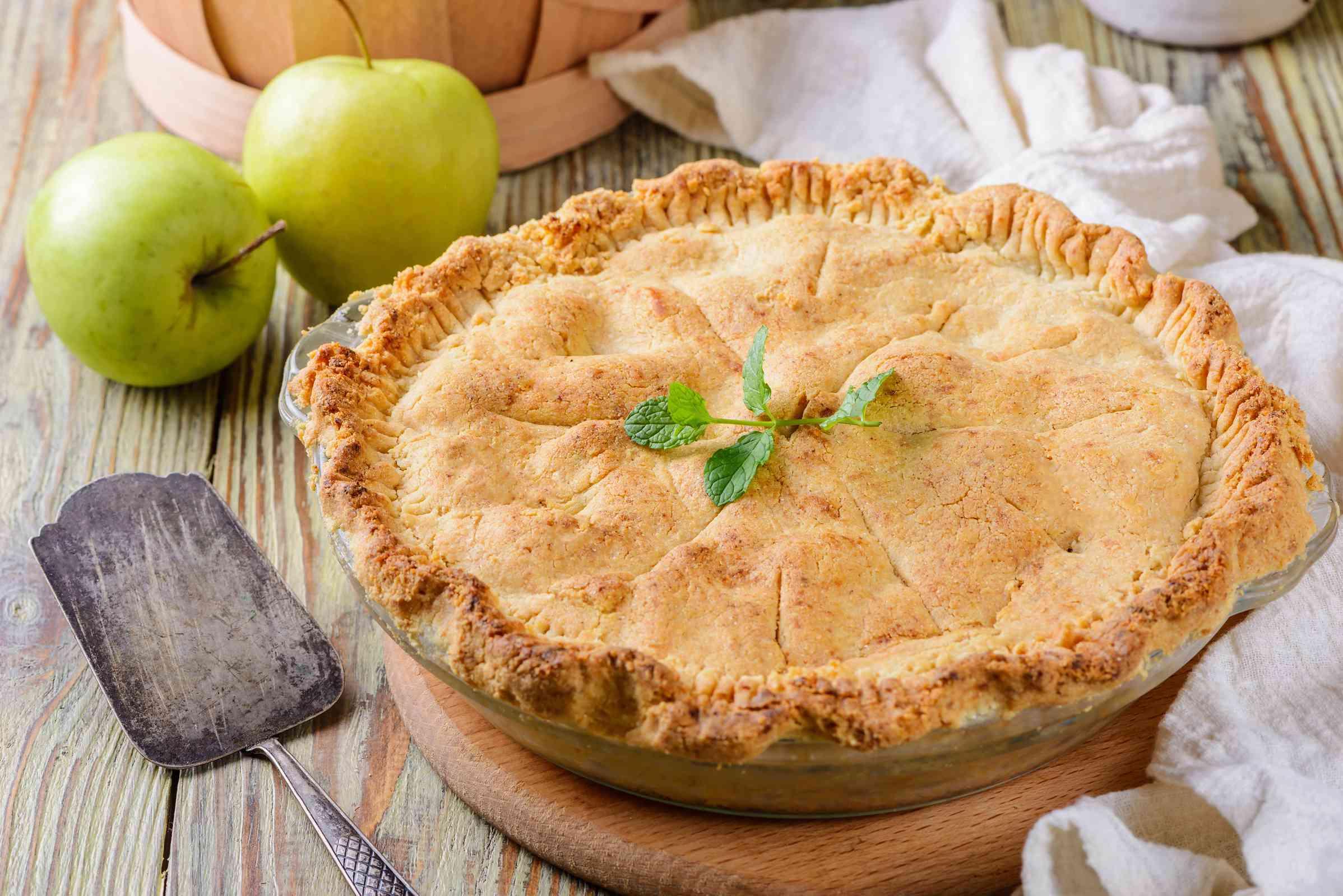 old-fashioned apple pie, gluten free