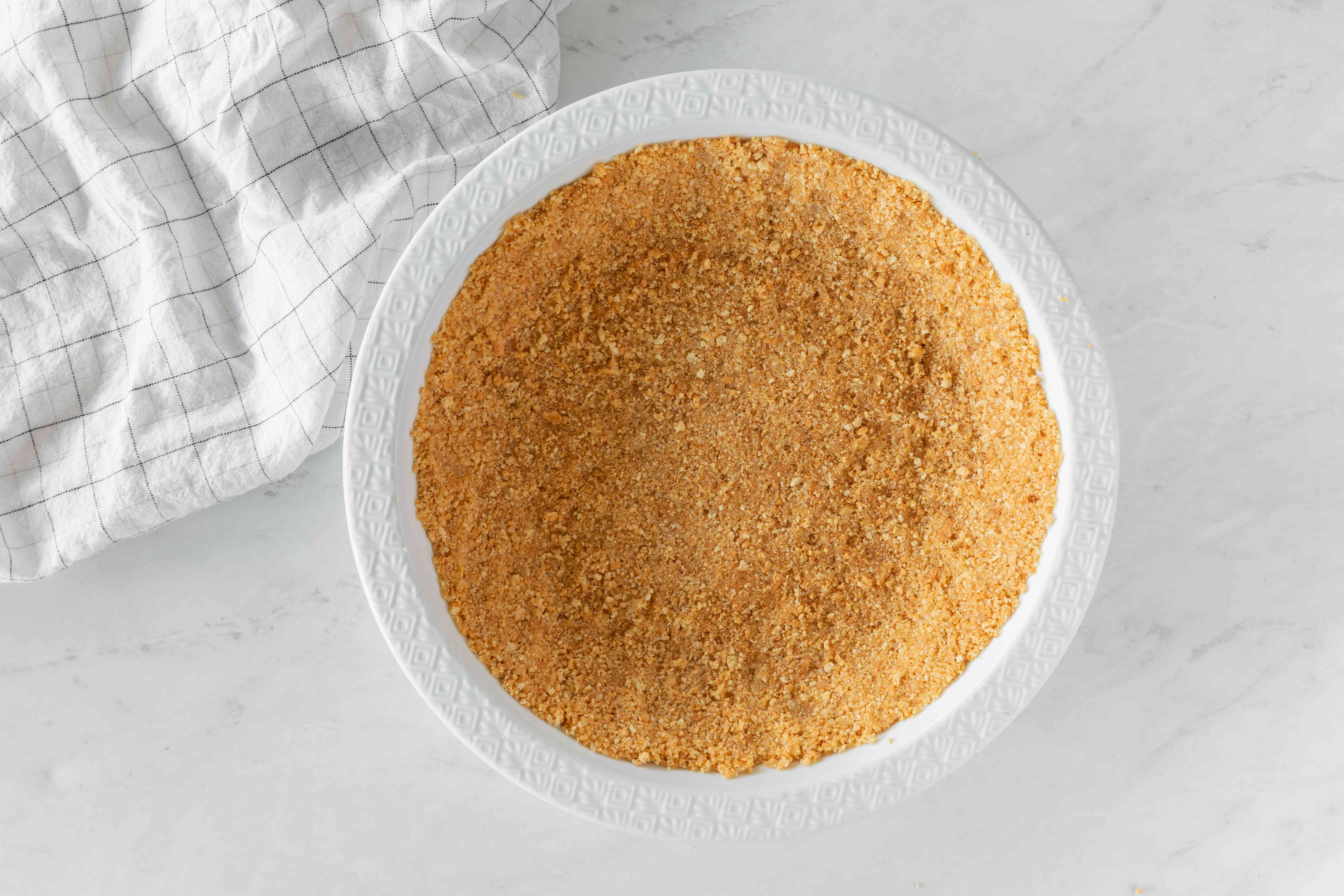 Pre-bake crust