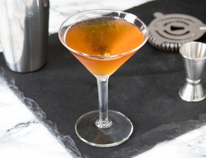Classic Brandy Metropolitan Cocktail
