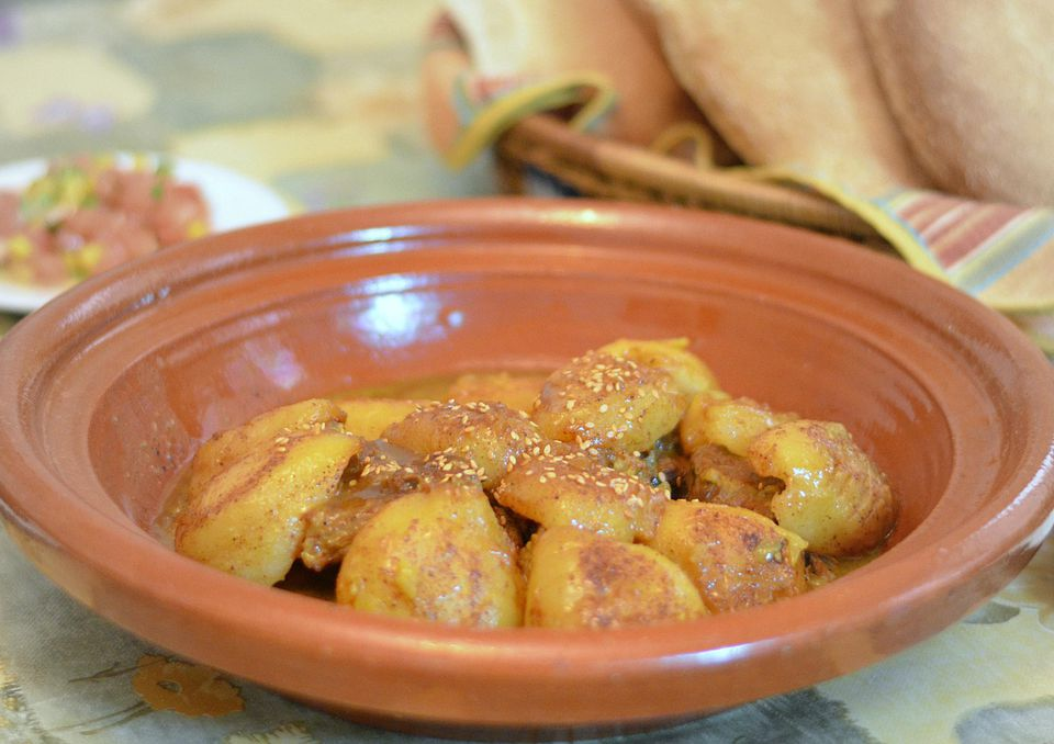 Moroccan Tagine with Pears