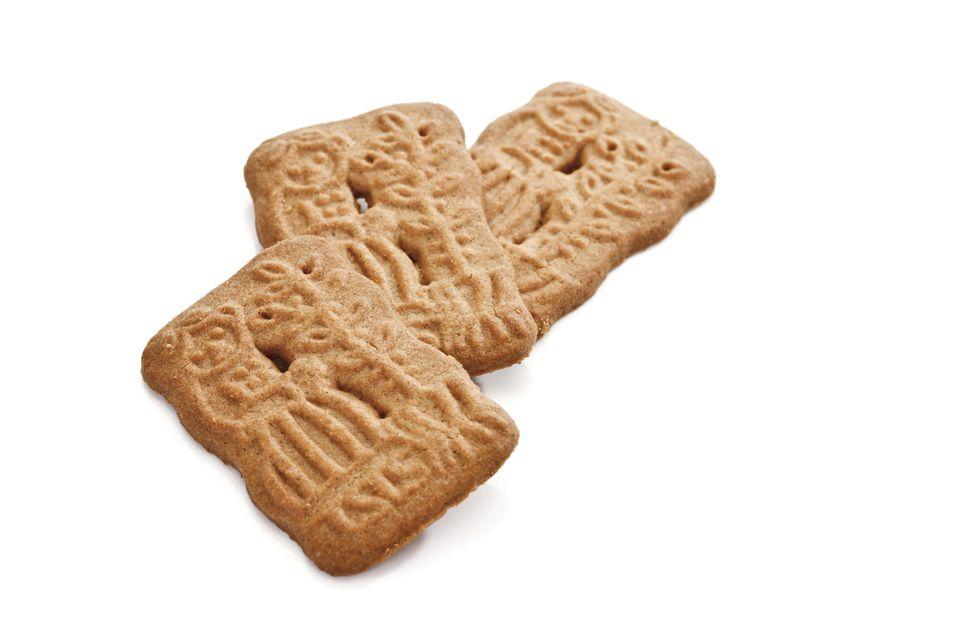 Spiced spekulatius cookies