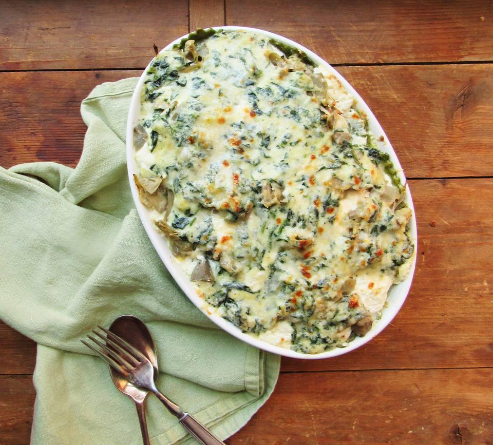 Spinach and Ravioli Lasagna