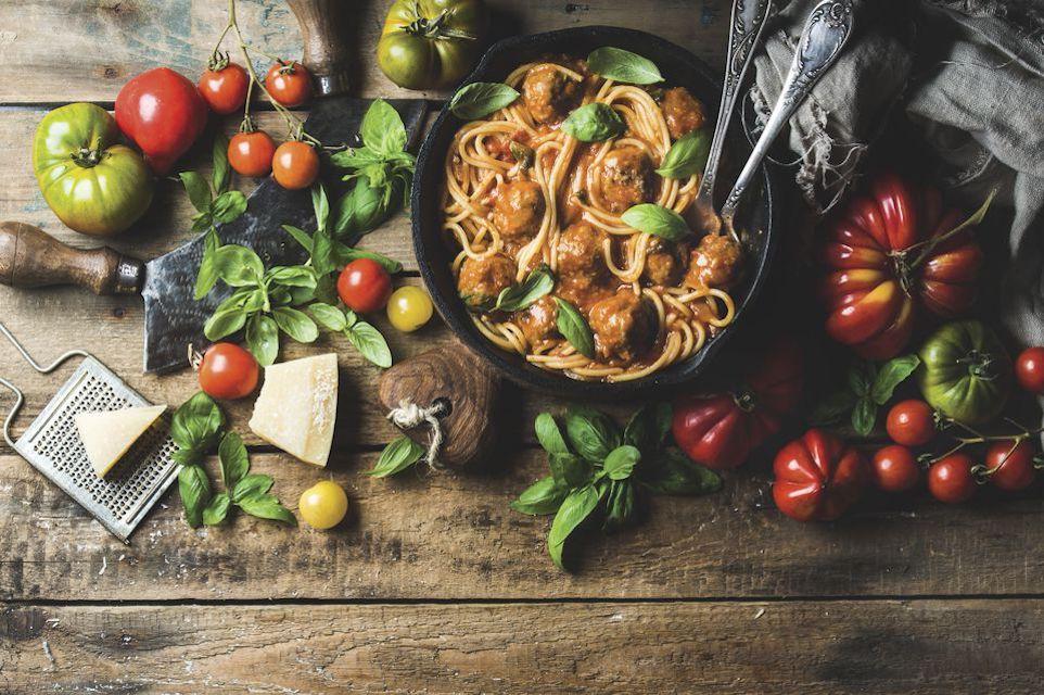 Simple skillet spaghetti