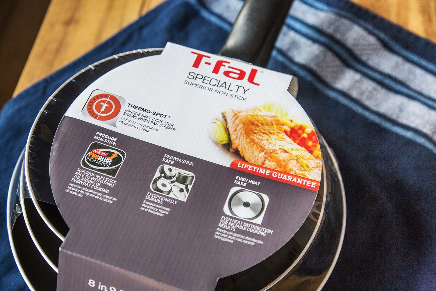T-fal Specialty Nonstick 3-Piece Fry Pan Set