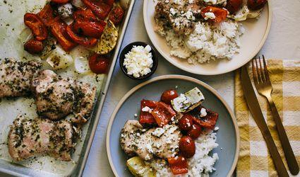 Sheet Pan Greek Chicken