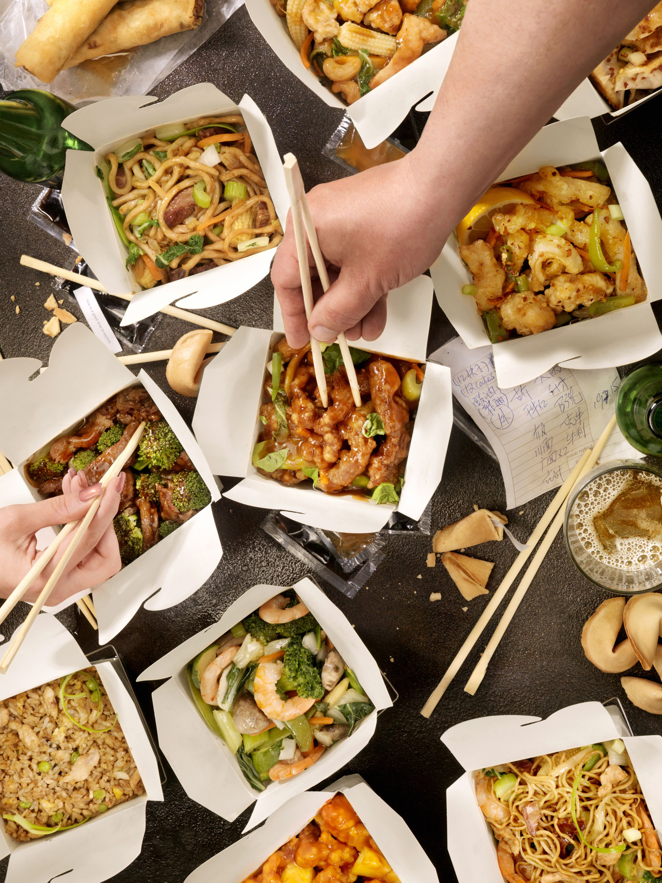 The Hitchhiker's Guide to Chinese Restaurant