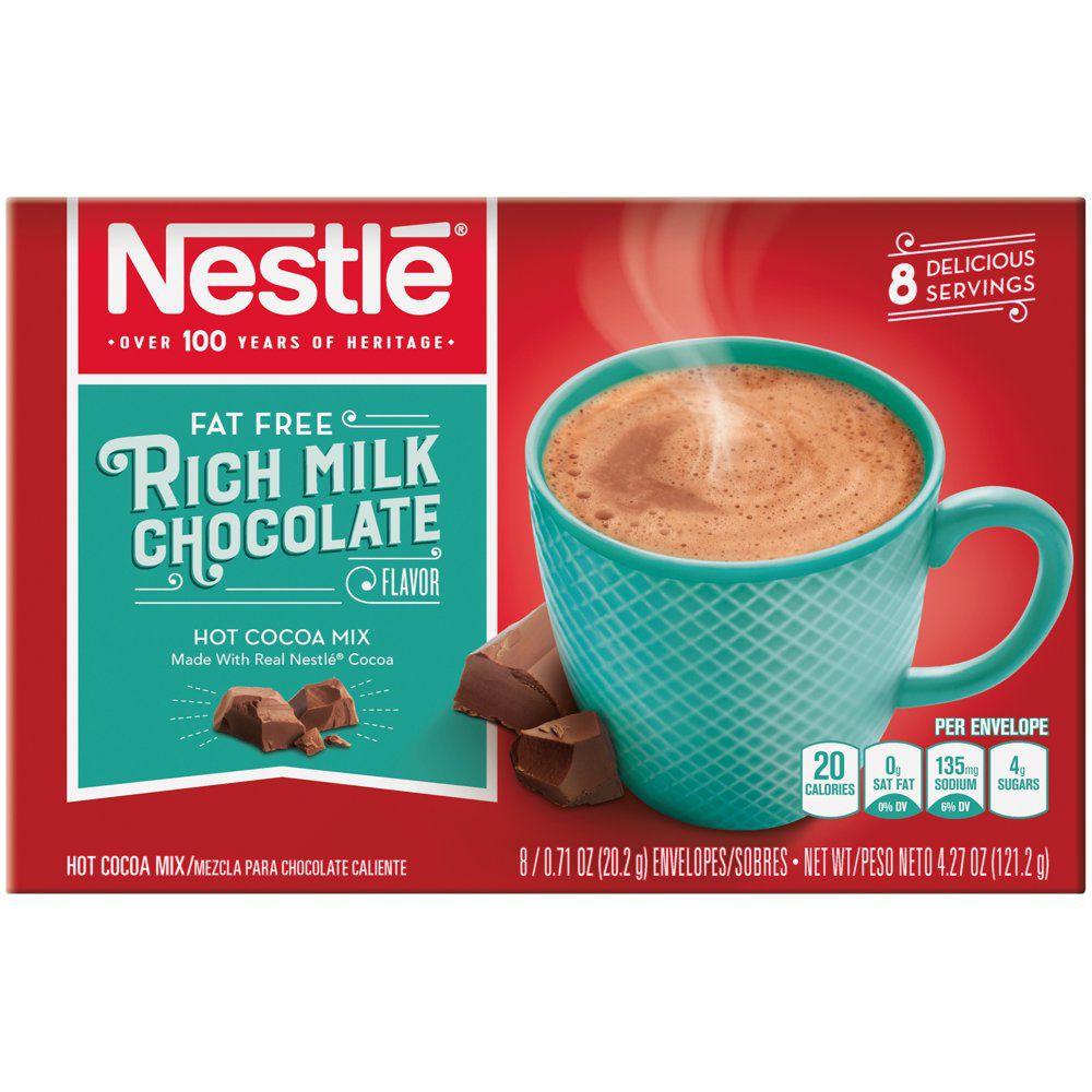Nestle Fat-Free Rich Milk Chocolate Hot Cocoa