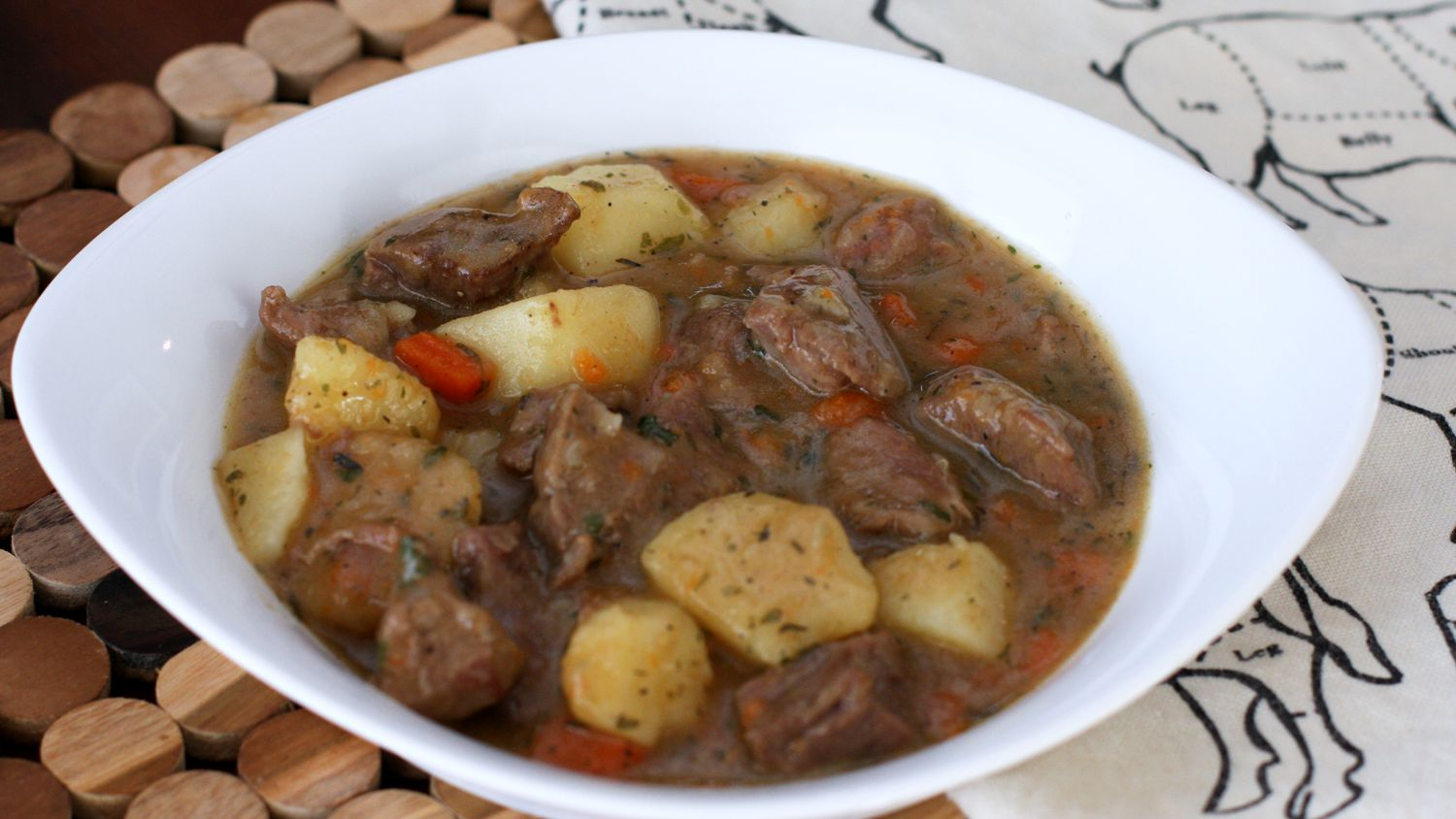 Classic Irish Stew With Lamb