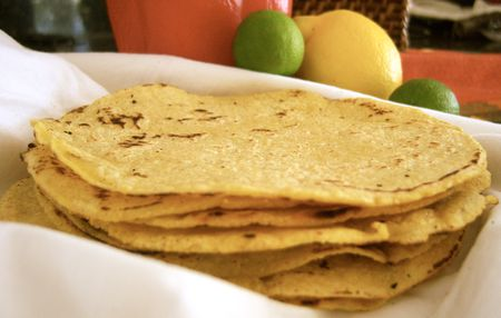 Homemade Gluten Free Corn Tortilla Recipe