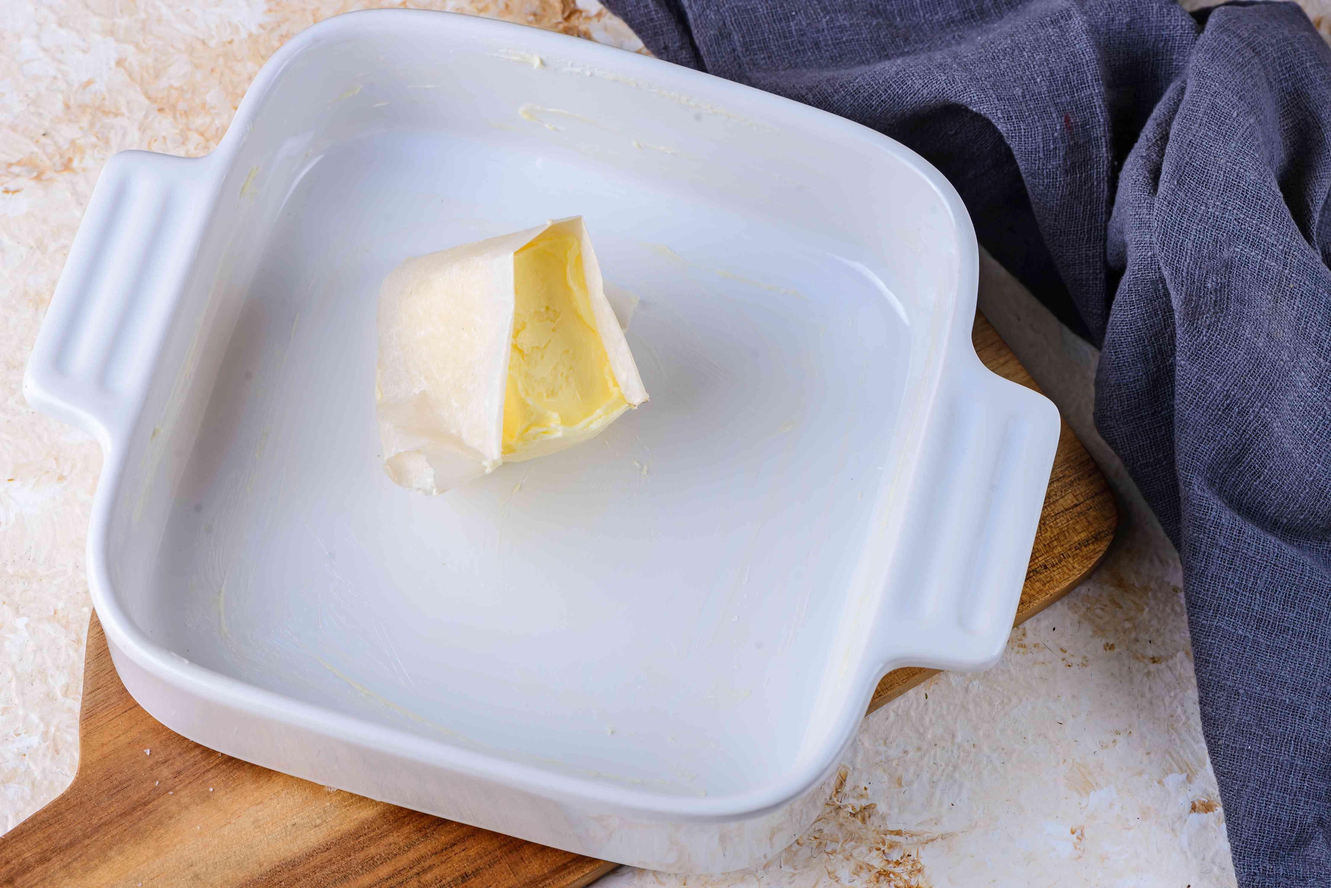 Butter baking dish
