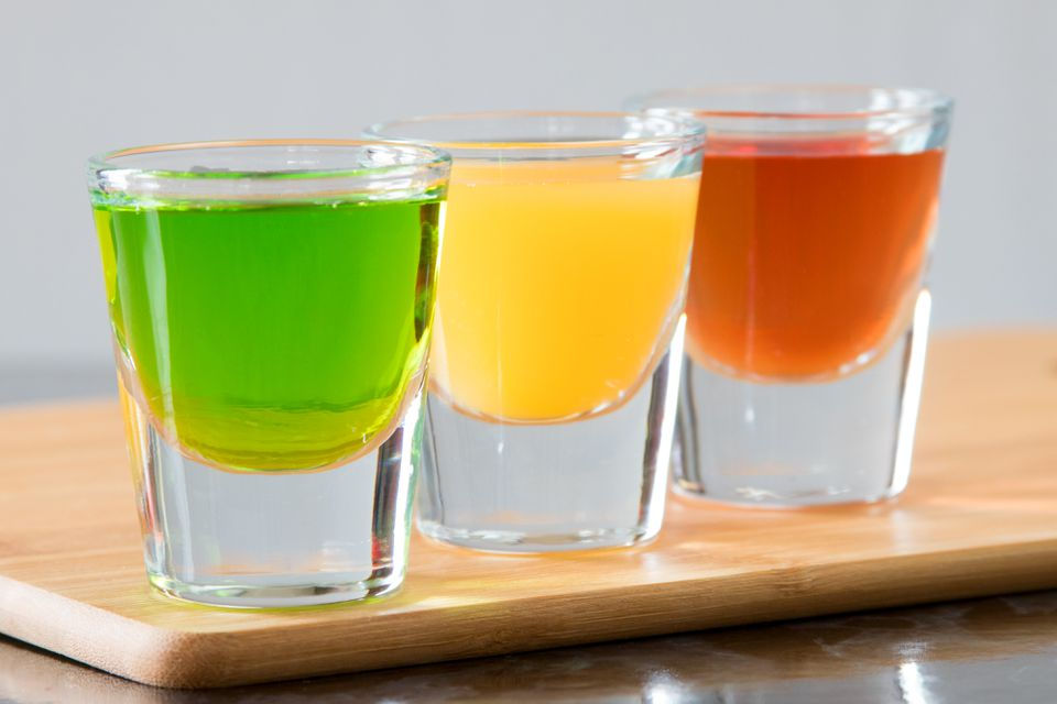 Stoplight Vodka Shots