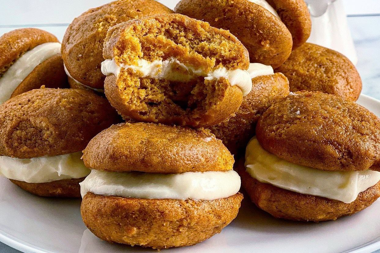 Pumpkin Whoopie Pies Are the Ultimate Fall Treat