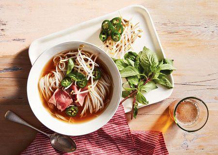 Vietnamese Pho Bo Beef Noodle Soup Recipe