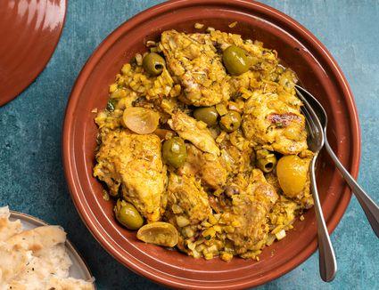 The Best Moroccan Chicken Tagine