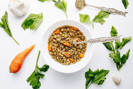 Vegetarian Crockpot Lentil Soup Recipe