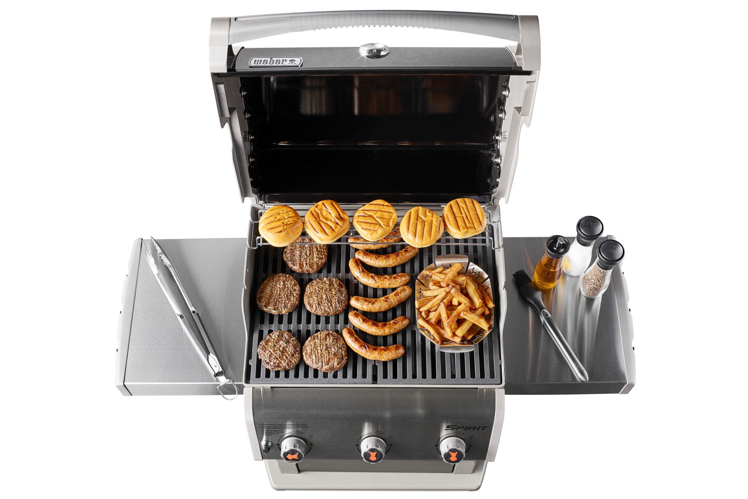 weber spirit e 310 gourmet bbq system gas grill review. Black Bedroom Furniture Sets. Home Design Ideas
