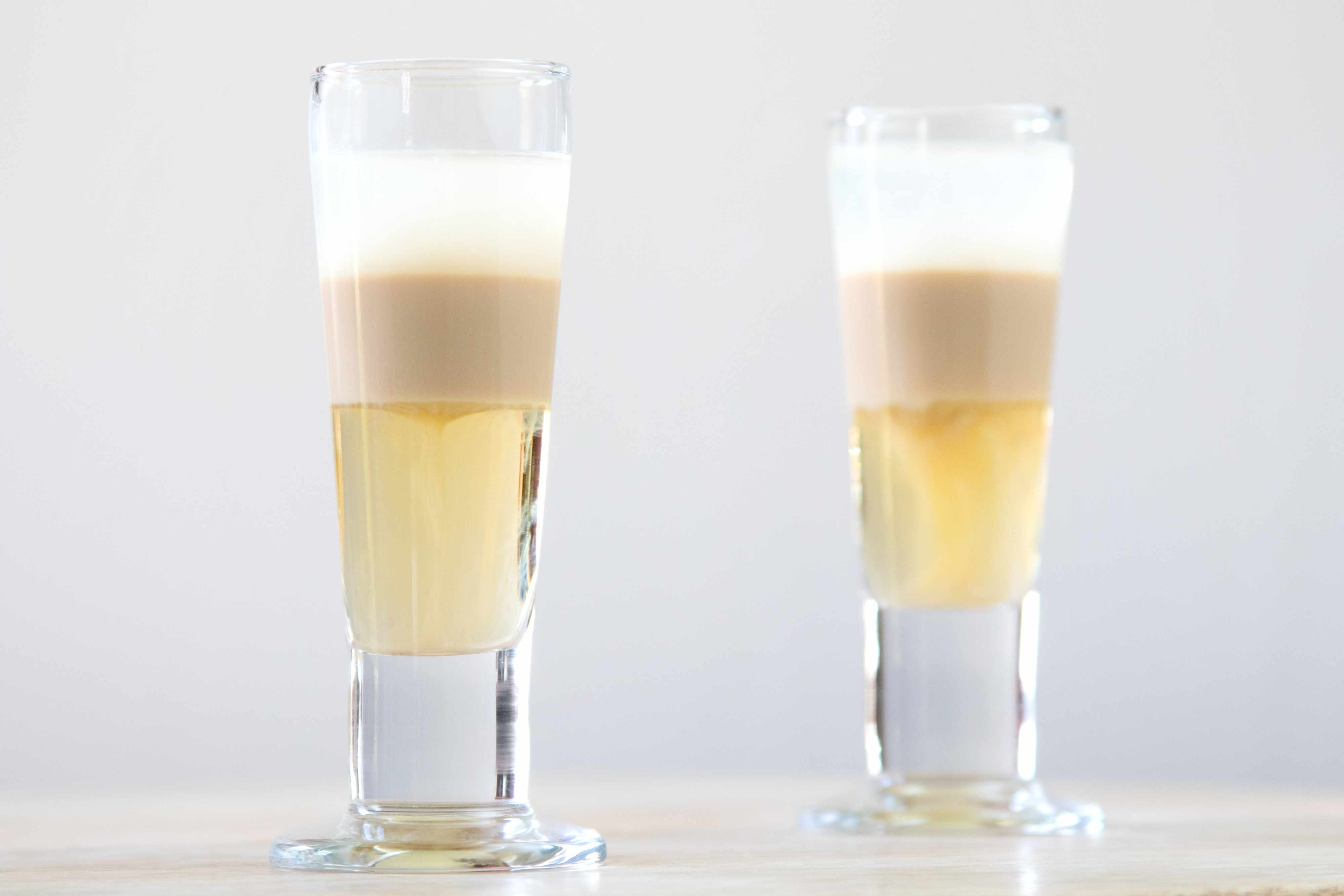 Nutty Fix (aka Russian Qualude) Layered Shot Drink