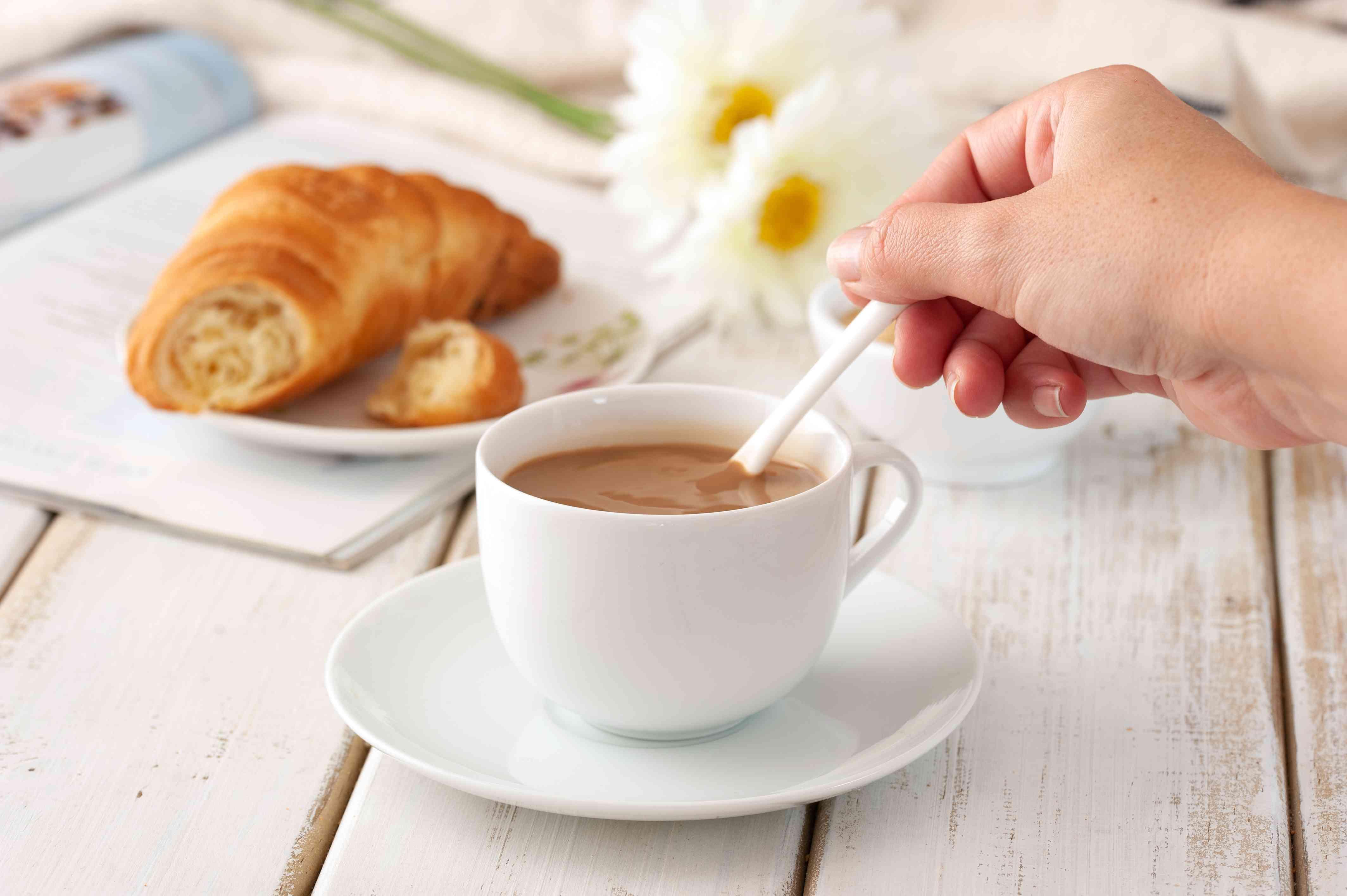 Stir café au lait
