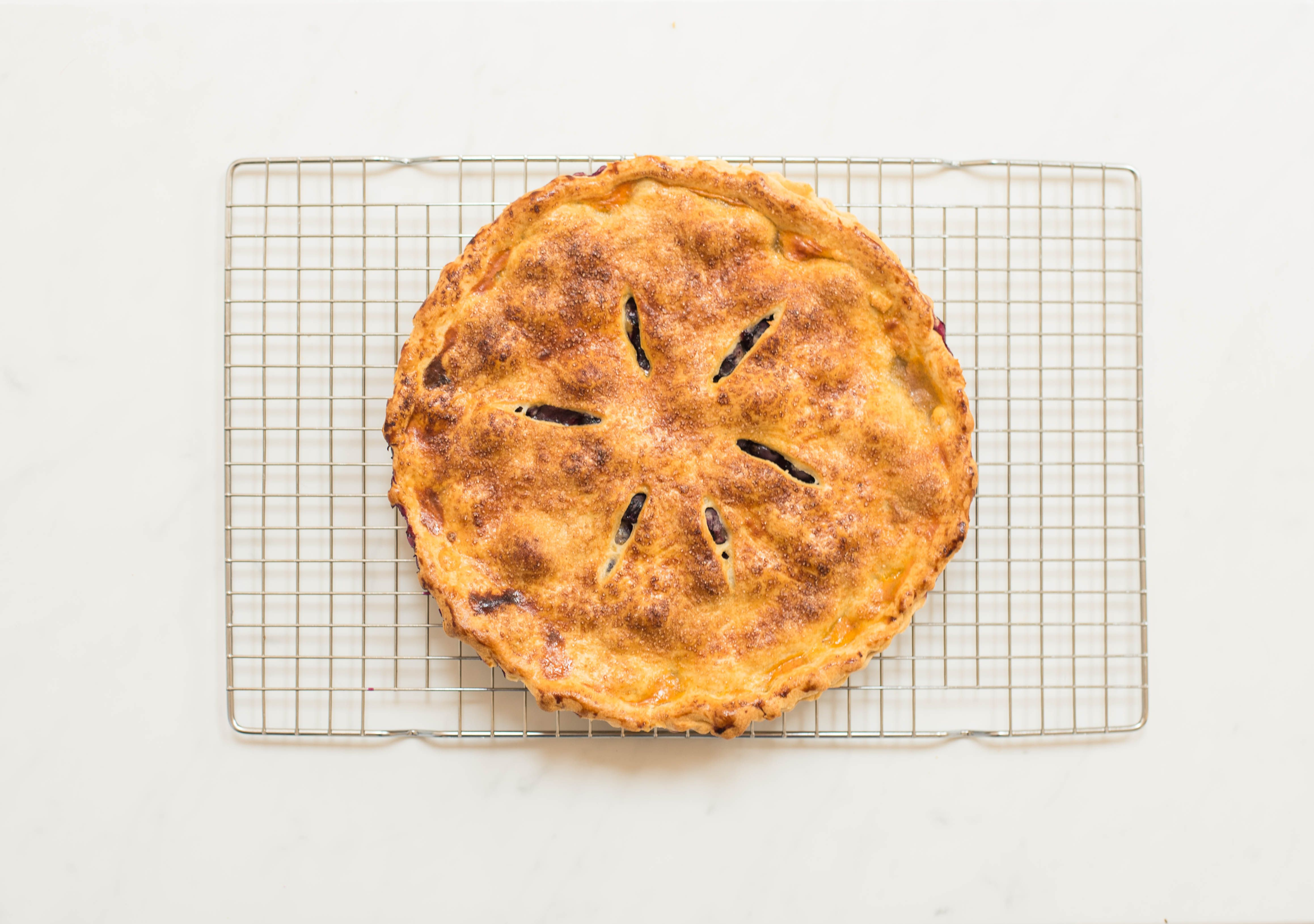 Allow pie to cool