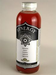 An image of Synergy Organic Raw Superfruits Kombucha.
