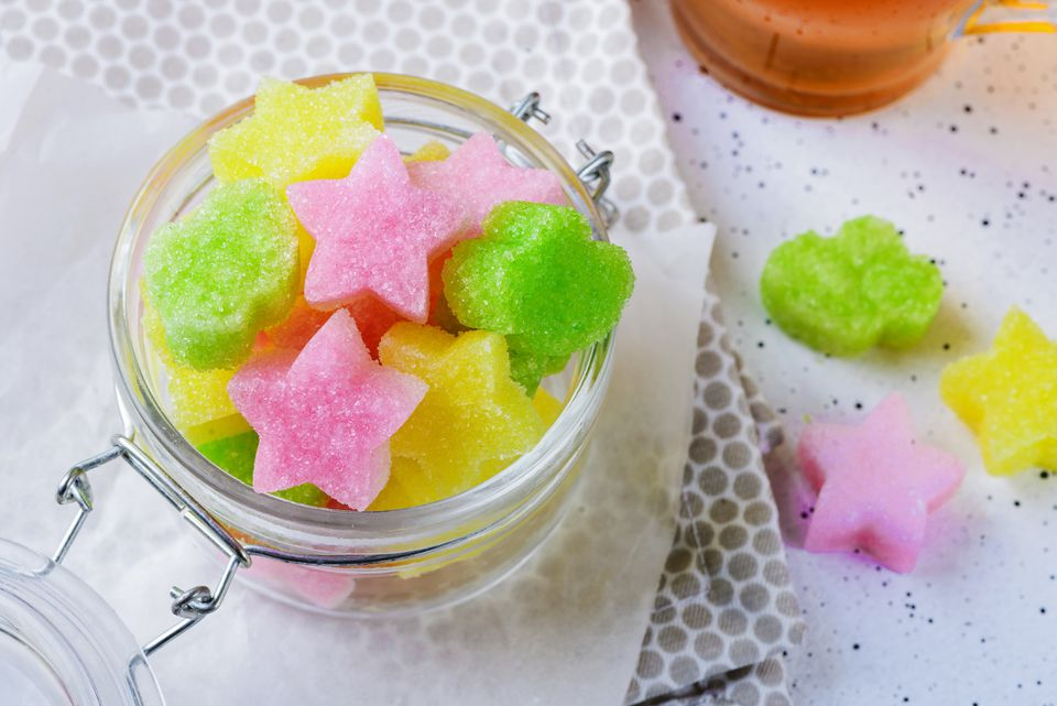 Homemade sugar cubes recipe