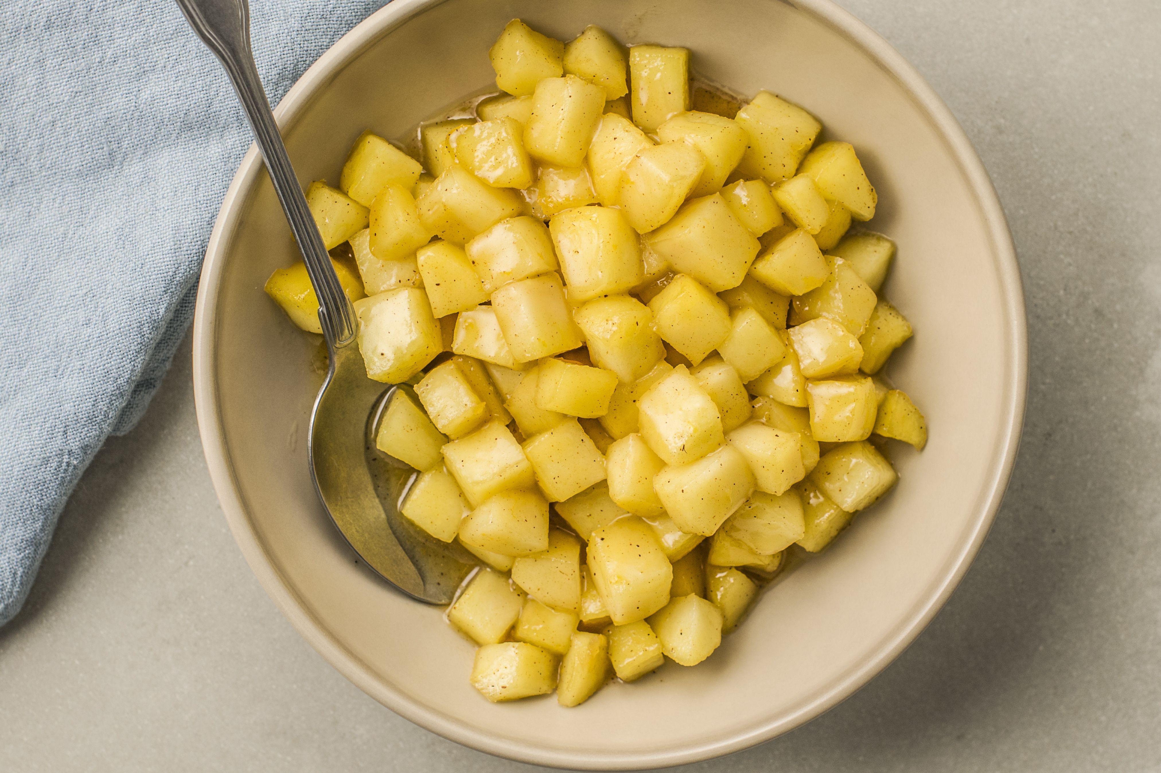 Caramelized apple recipe